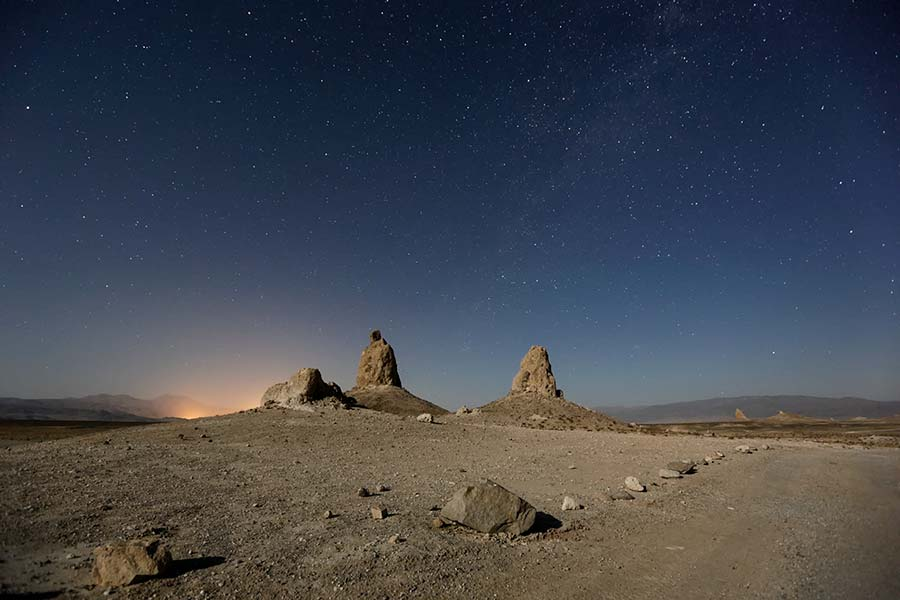 trona pinnacles moonlite polaras